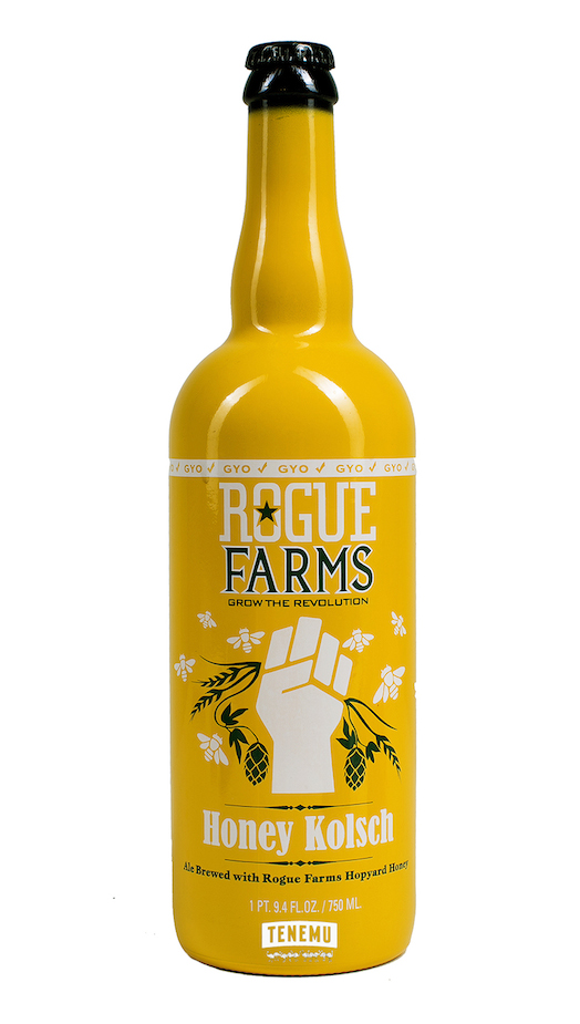 Rogue Farms Honey Kolsch Bottle