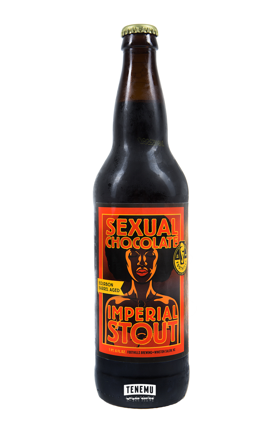 Foothills Bourbon Barrel Aged Sexual Chocolate 2014 Bottle