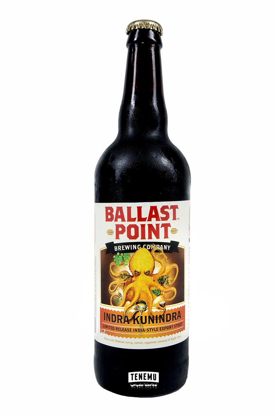 Ballast Point Indra Kunindra bottle