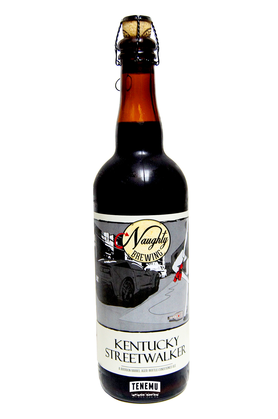 Naughty Brewing Kentucky Streetwalker bottle