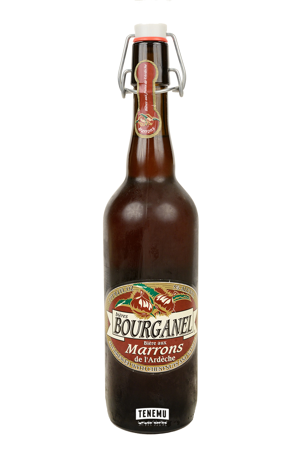 Brasserie Bourganel Biere Aux Marrons bottle