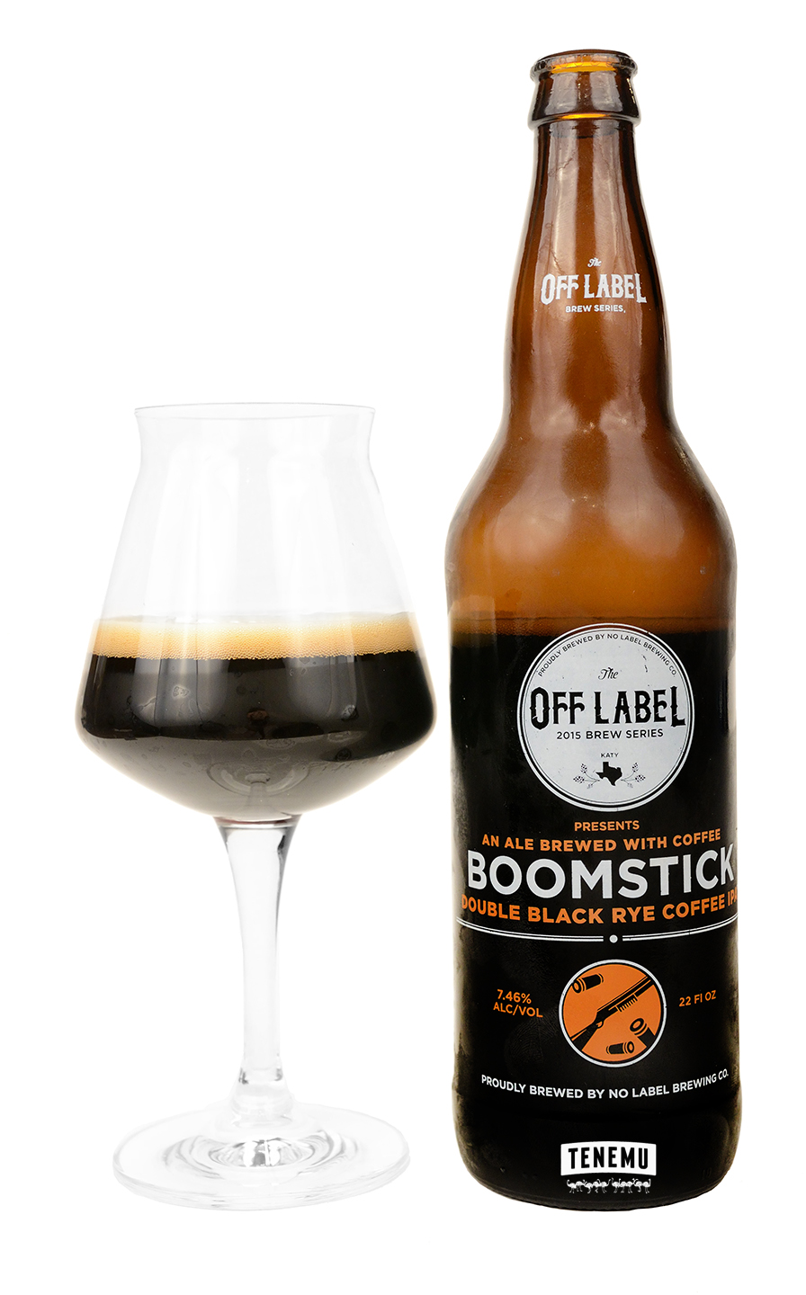 No Label Boomstick Double Black Rye Coffee IPA