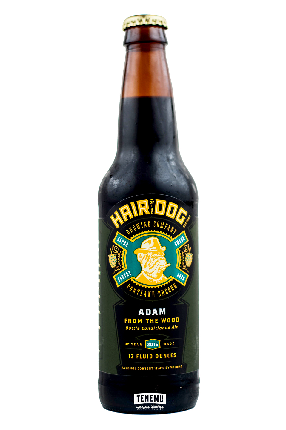Hair of the Dog Adam from the Wood (2015) bottle