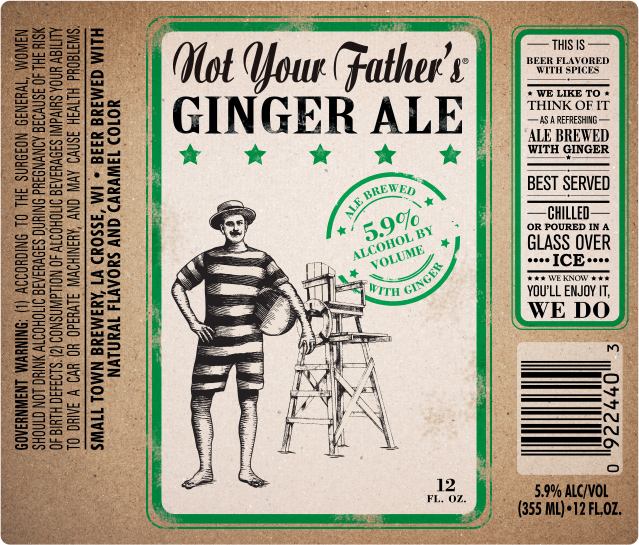 Not Your Father's Ginger Ale 12oz Bottles