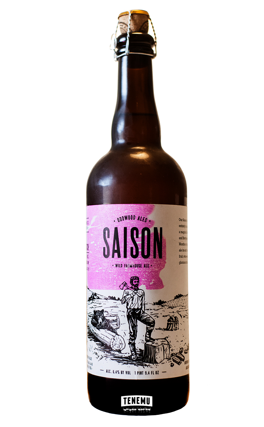 Oddwood Saison bottle