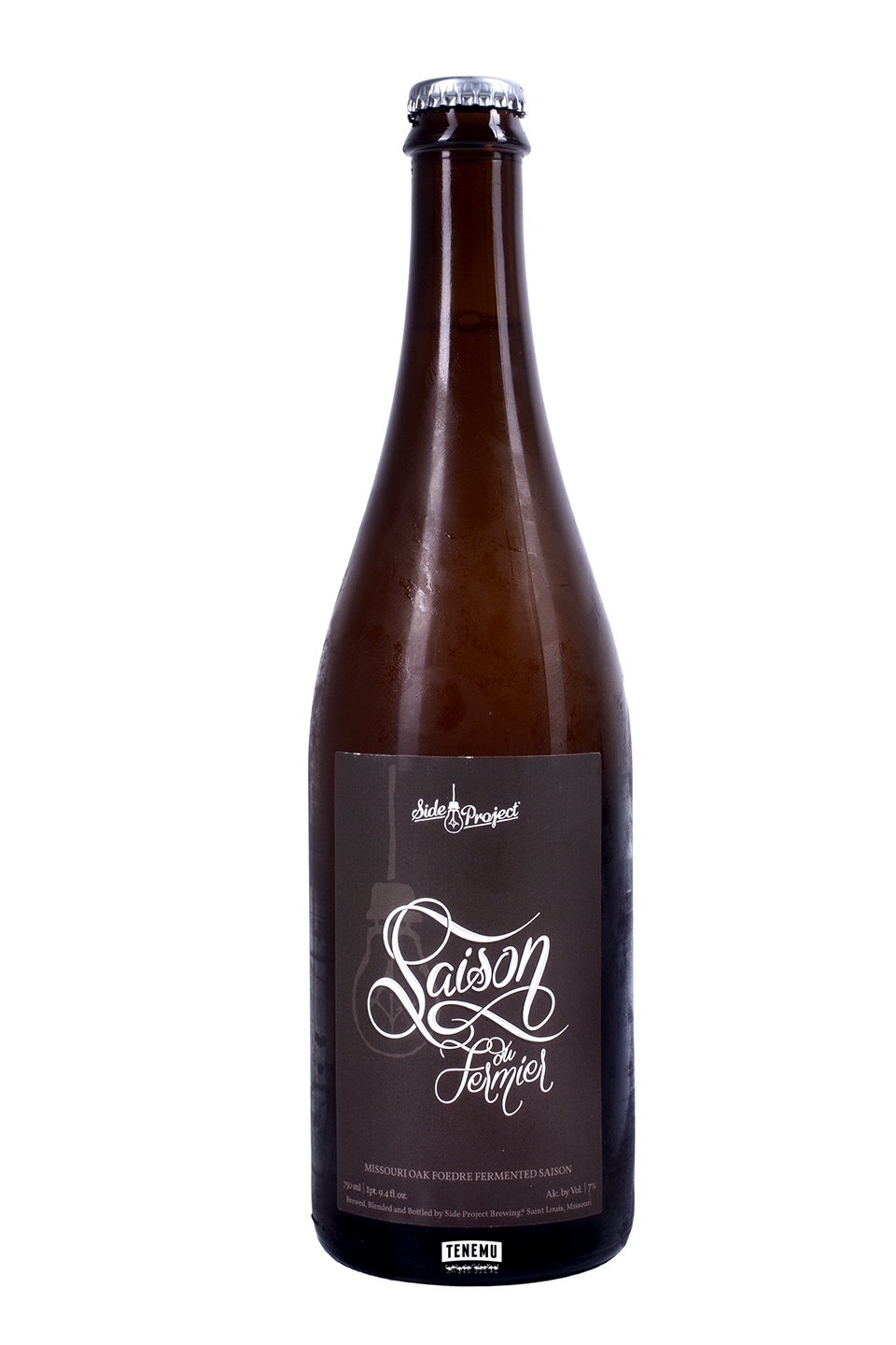 Side Project Saison Du Fermier Batch #3 bottle