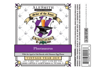 AleSmith Order of the Anvil Pluotasaurus