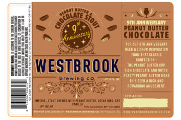 Westbrook 9th Anniversary Peanut Butter & Chocolate Stout