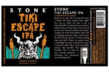 Stone Tiki Escape IPA